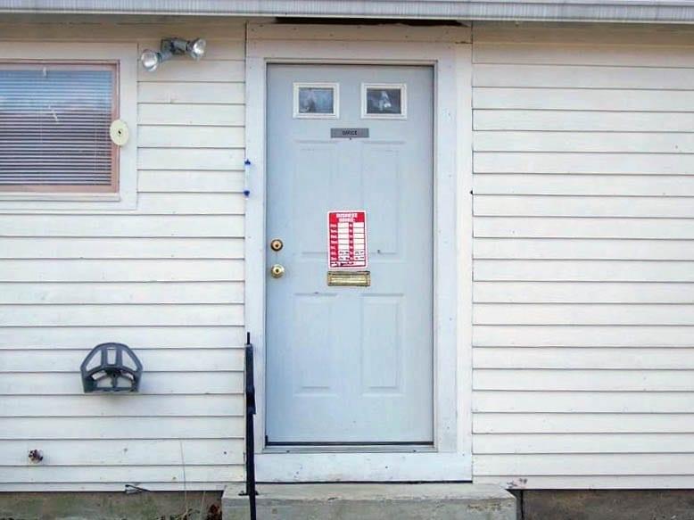 Back Door Drop Box